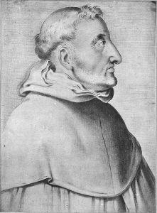 Francisco Pacheco, Ritratto di Fra Luis de Granada (1599).