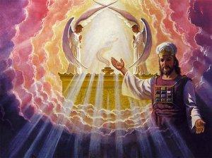Cristo è il vero ed unico sommo sacerdote che, una volta per sempre, è entrato con il suo sangue nel santuario del Cielo per ottenerci una redenzione eterna.