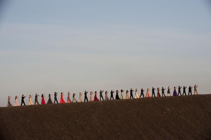 "Fotogramma del film ""Pina"" (2011), di Wim Wenders."