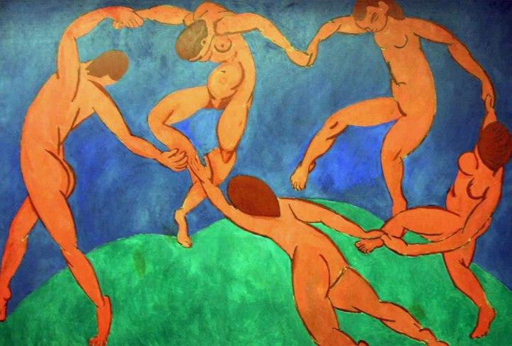 Henri Matisse, La danza (1910). Museo dell'Ermitage, San Pietroburgo.